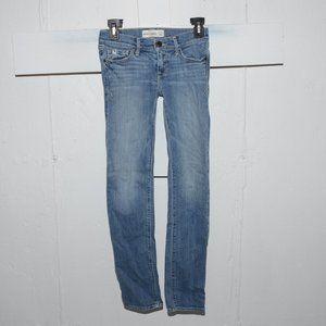 Abercrombie skinny girls jeans size 12 slim